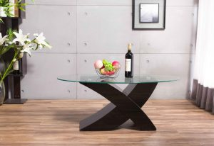 The Milano Black High Gloss Coffee Table