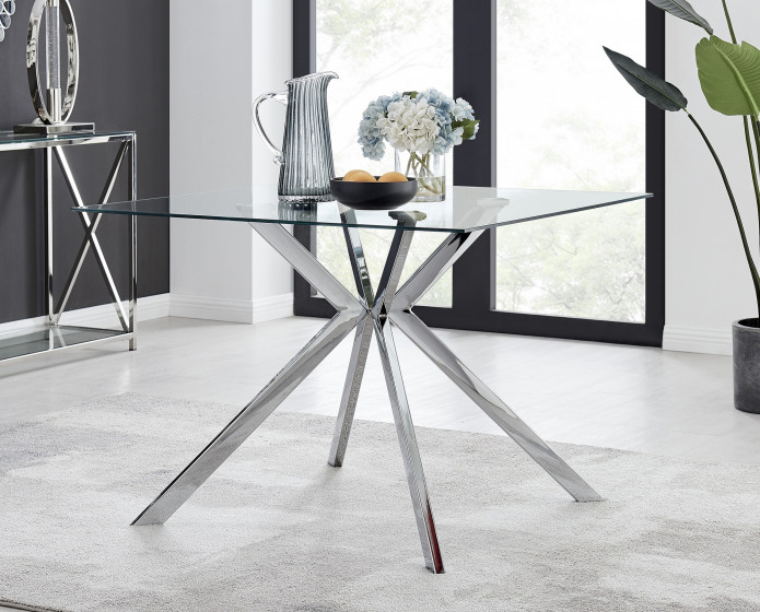 Lazio 4 Square Dining Table