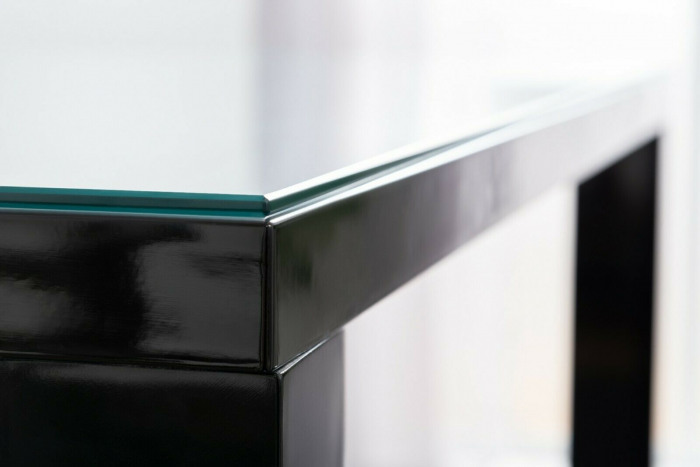 Clear Tempered Glass Dining Table Top Protector Topper-150x80cm Topper