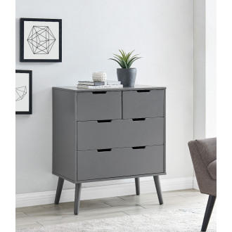 Alma Medium Grey Chest of Drawers