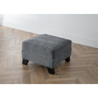 Betty Footstool in Charcoal Grey