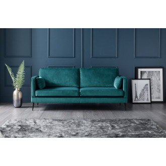 Olive 3 Seater Sofa in Peacock Teal