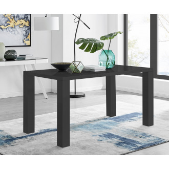 Pivero Black High Gloss Dining Table