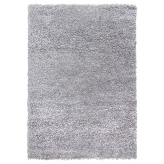 Dreams Deep Shaggy Rug in Light Grey - 150x80cm