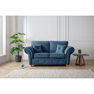 Lindy 2 Seater Sofa in Navy