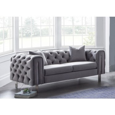 Ritz 2 Seater Chersterfield Style Sofa