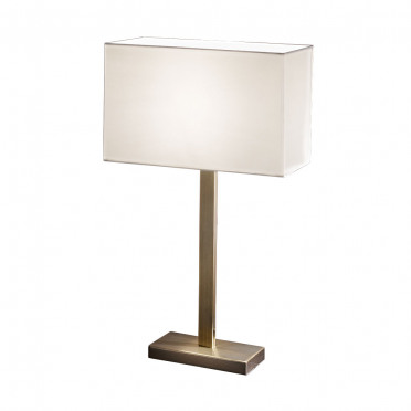 Christie Bronze Table Lamp with Cream Shade