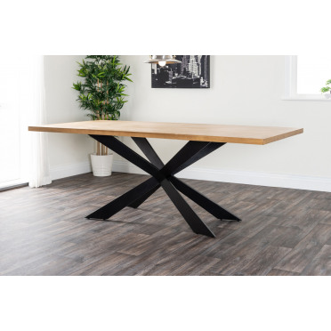 Georgio Large Modern Wood Veneer Dining Table
