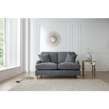 Piper 2 Seater Sofa in Charcoal Grey