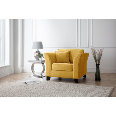 Betty Armchair in Yellow