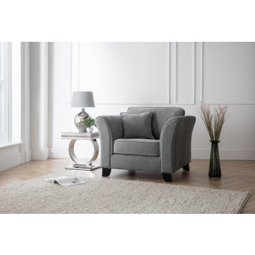 Betty Armchair in Charcoal Grey