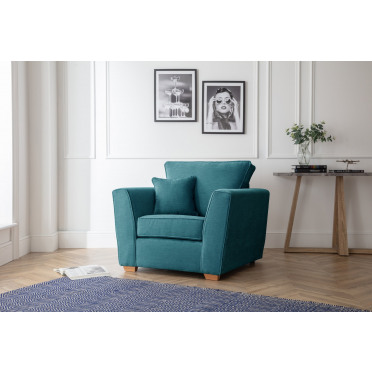Fred Armchair in Emerald Green