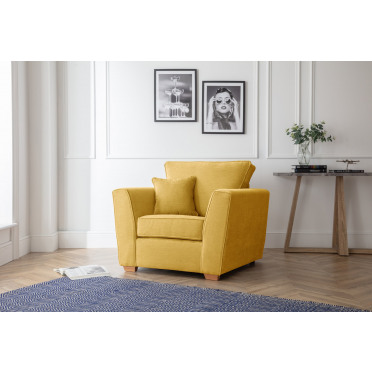 Fred Armchair in Yellow
