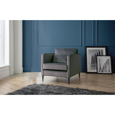 Olive Armchair in Cosmic