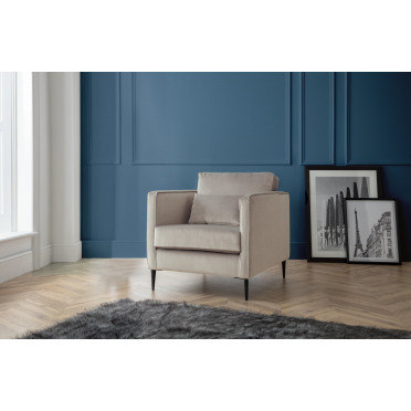 Olive Armchair in Putty Cream