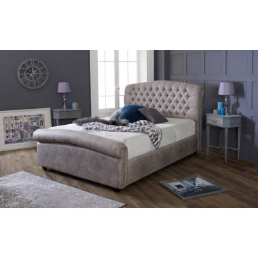 Stockholm Roll Top Bed Frame and Headboard