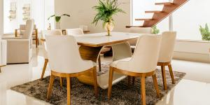 Should You Put A Rug Under A Dining Table?