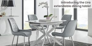 Our New Extending Space-Saving Dining Table Solves All Your Problems