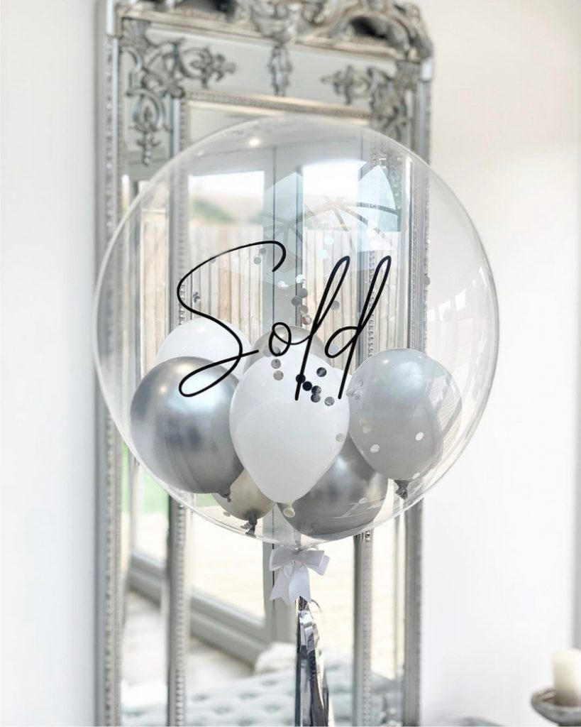 Image showing balloon with sold written on it. How to prepare your home for sale.