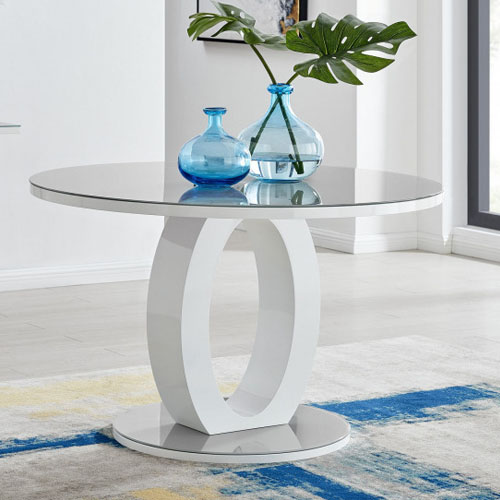 white gloss giovani child friendly dining table for family homes